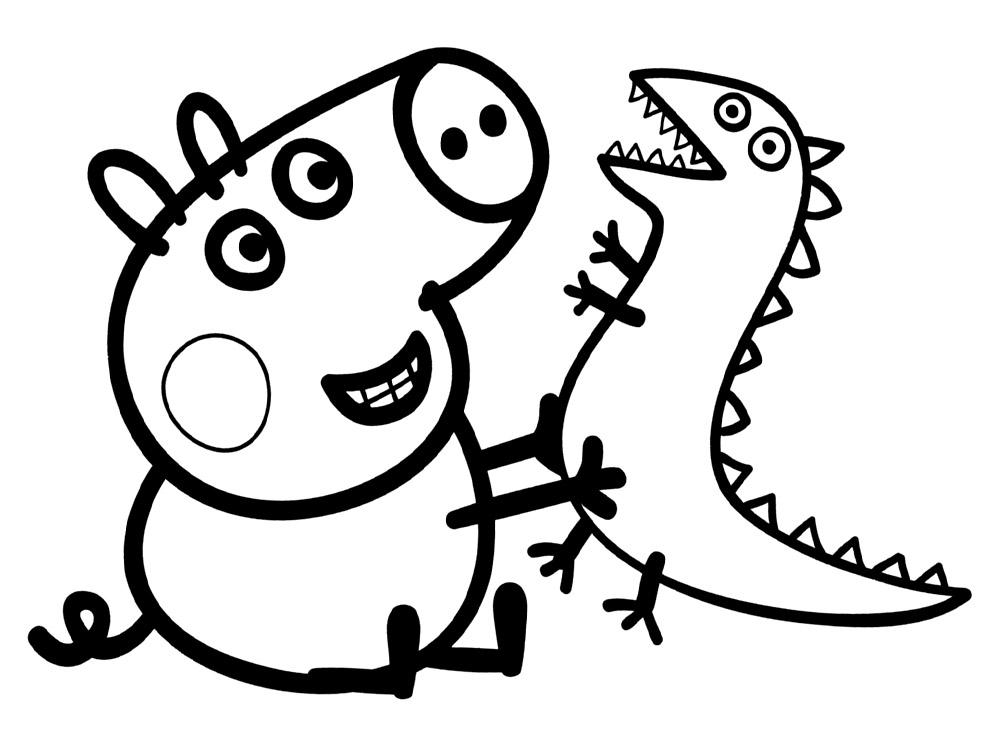 Dibujos PEPPA PIG para colorear  Dibujos de PEPPA PIG