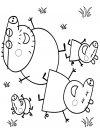 Peppa Pig - dibujos infantiles para colorear