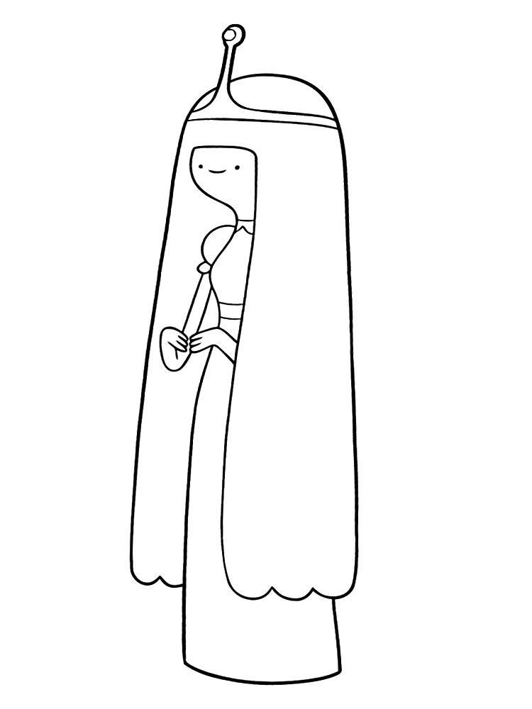 Dibujos para colorear – Hora de aventuras, para desarrollar la ...