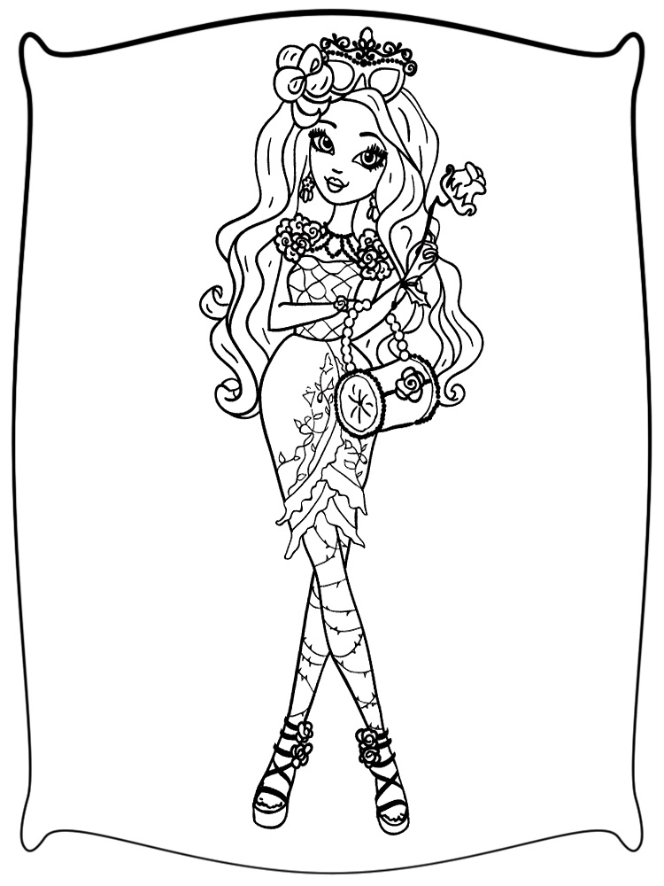 Dibujos Para Colorear Ever After High Para Niños