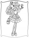 Dibujos para colorear - Ever After High, para niñas y niños