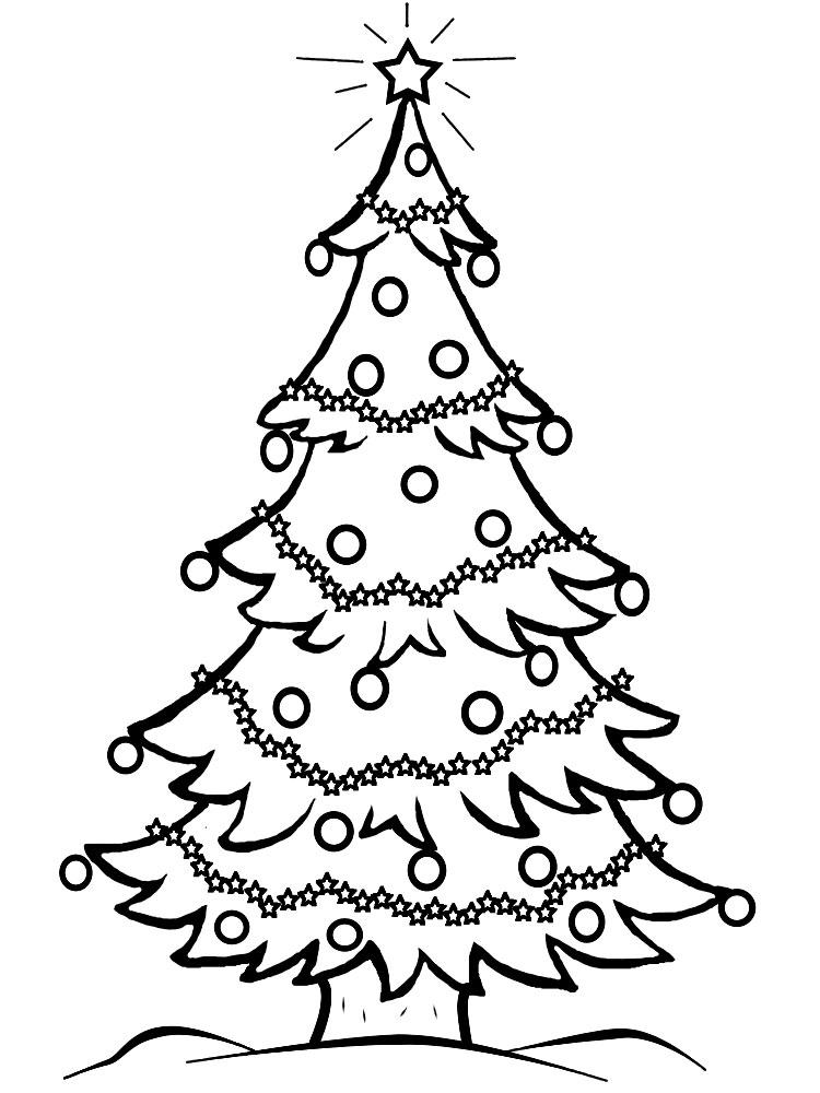 Arbol de navidad dibujos infantiles para colorear para - Arbol navidad infantil ...