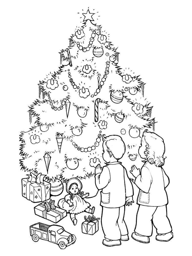 Imprimir gratis dibujos para colorear arbol de navidad - Arbol de navidad para imprimir ...