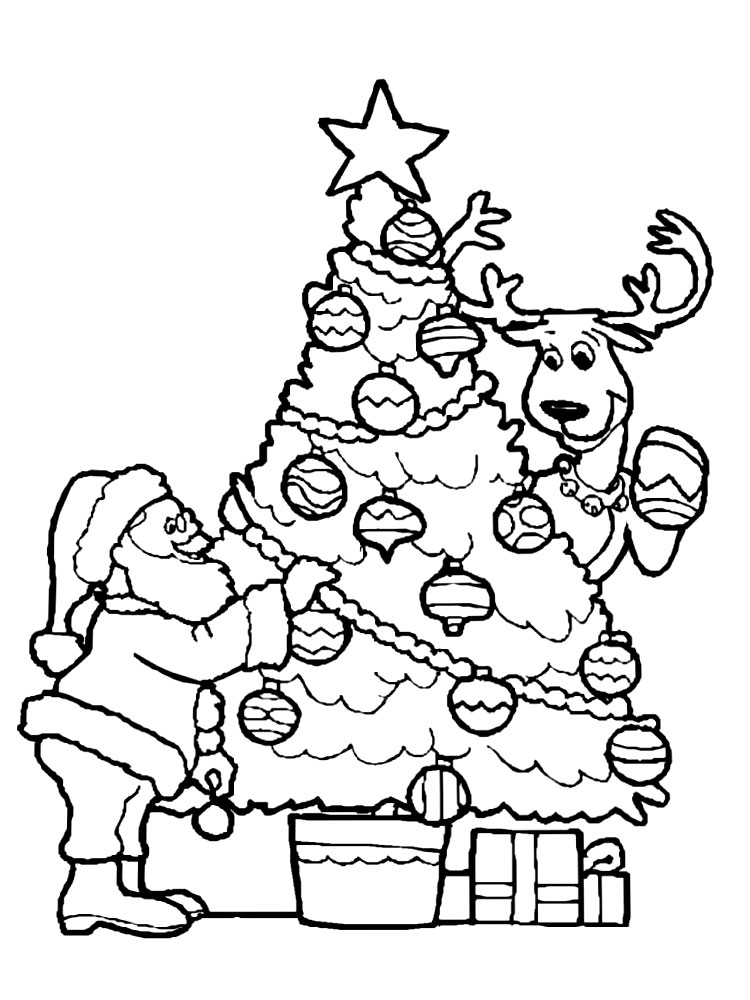 Dibujos De Rboles Para Colorear Para Ni Os on pig christmas lights html