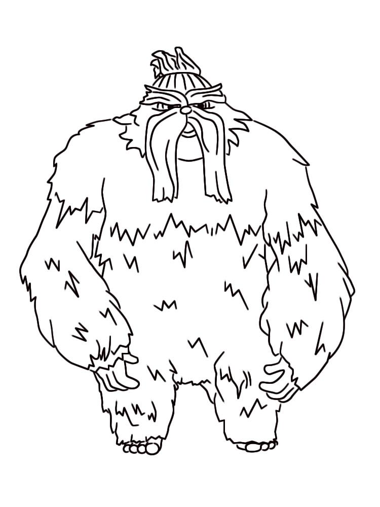 Útiles dibujos para colorear – El origen de los guardianes, para ...