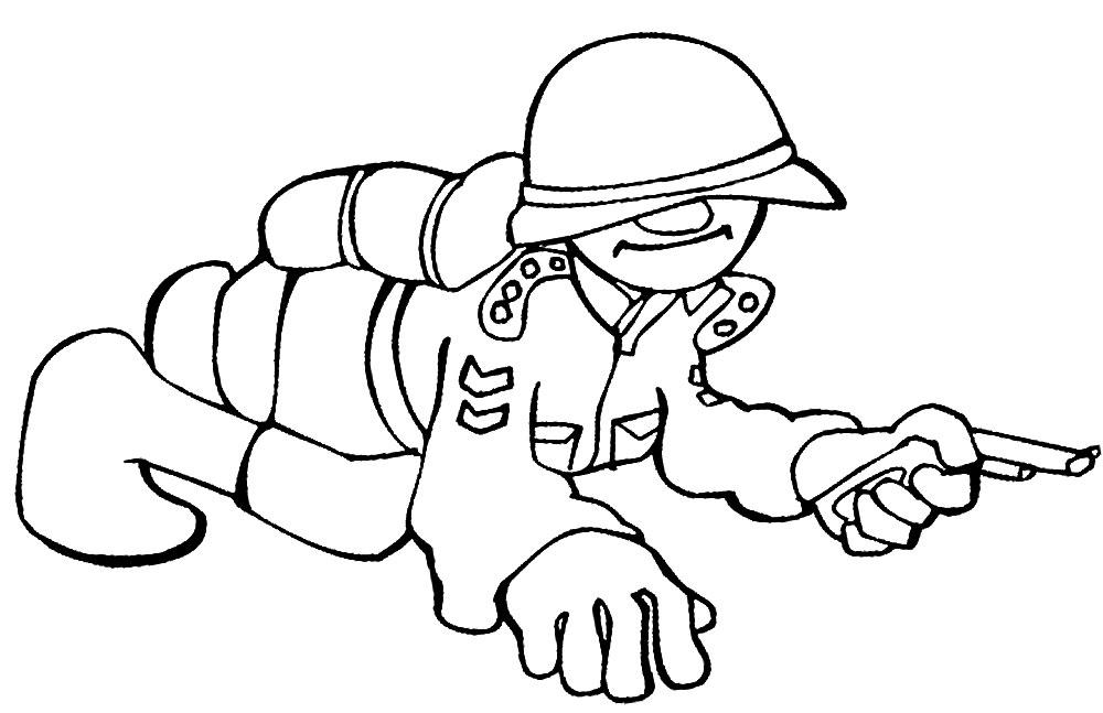 Militares Para Colorear | www.imagenesmy.com