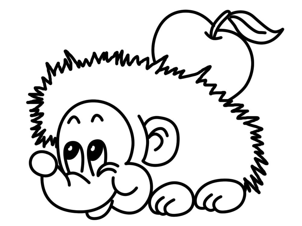 Útiles dibujos para colorear – animales, para chiquitines creativos