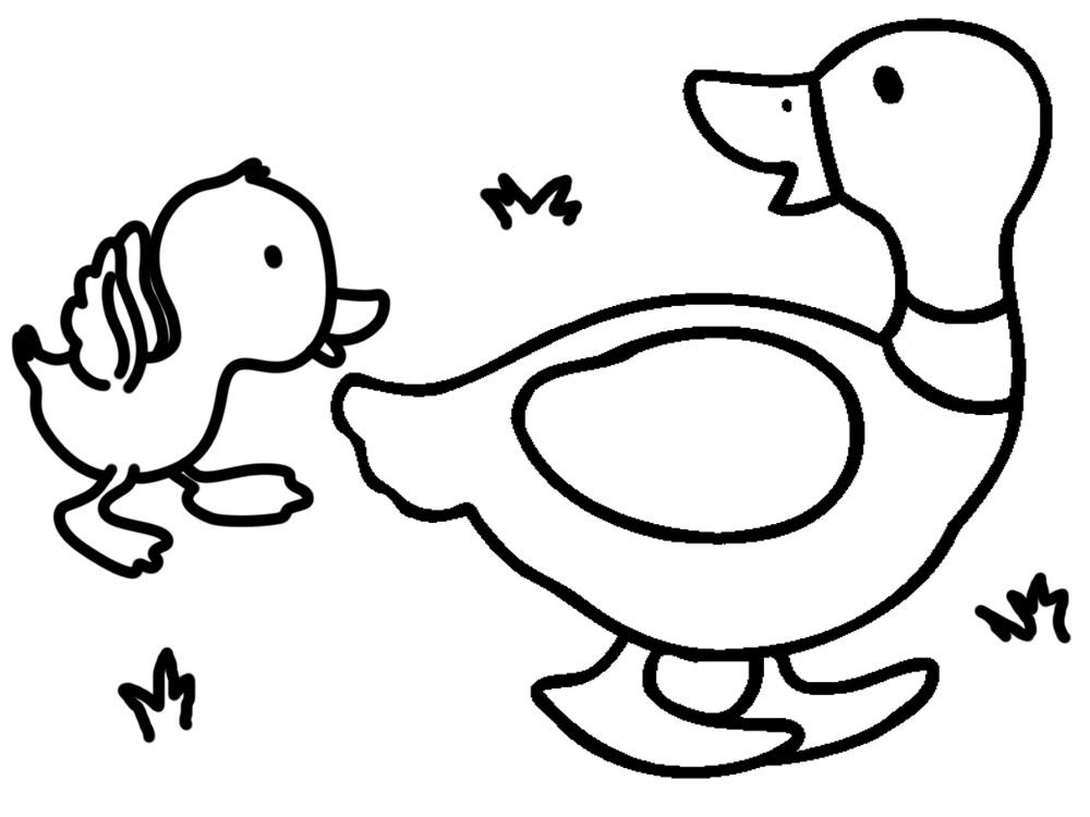 Dibujos animados para colorear – animales, para niños pequeños.