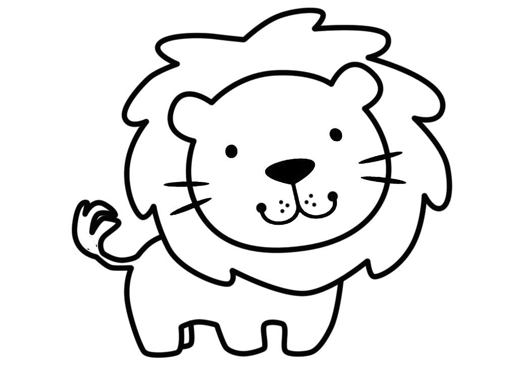 Descargar gratis dibujos para colorear – animales.