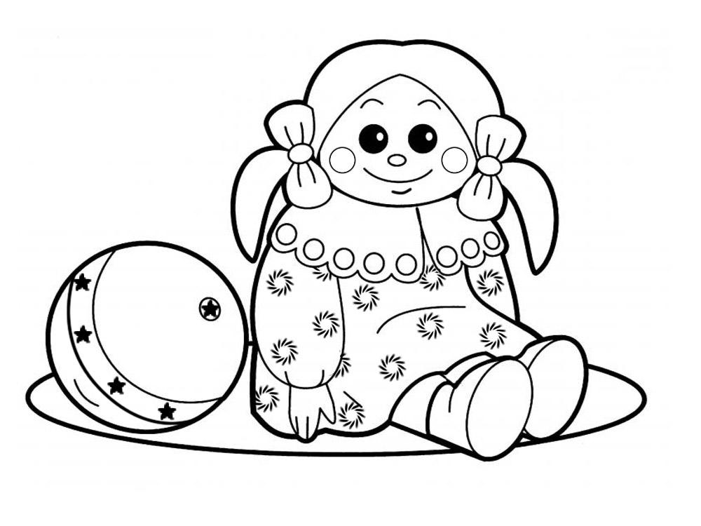 Imprimir dibujos para colorear – juguetes, para niños y niñas