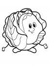 Dibujos Infantiles Para Colorear Con Verduras Y Frutas Descargar