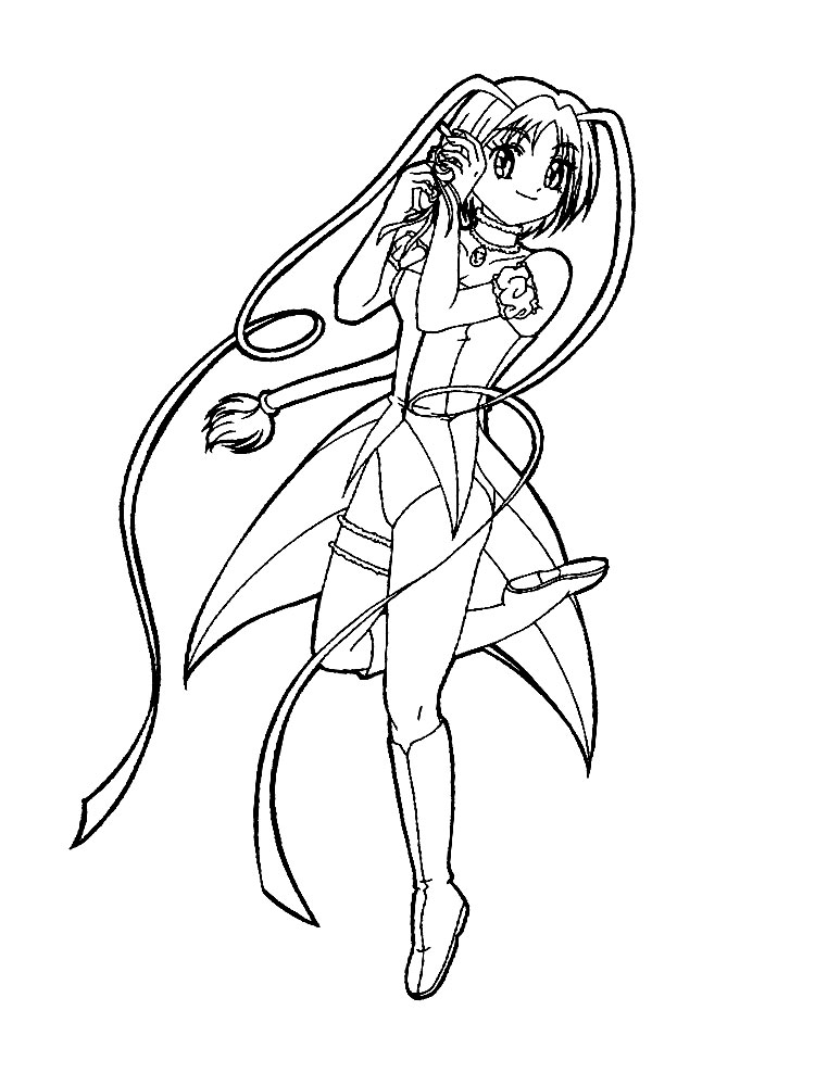 Descargamos dibujos para colorear – anime.