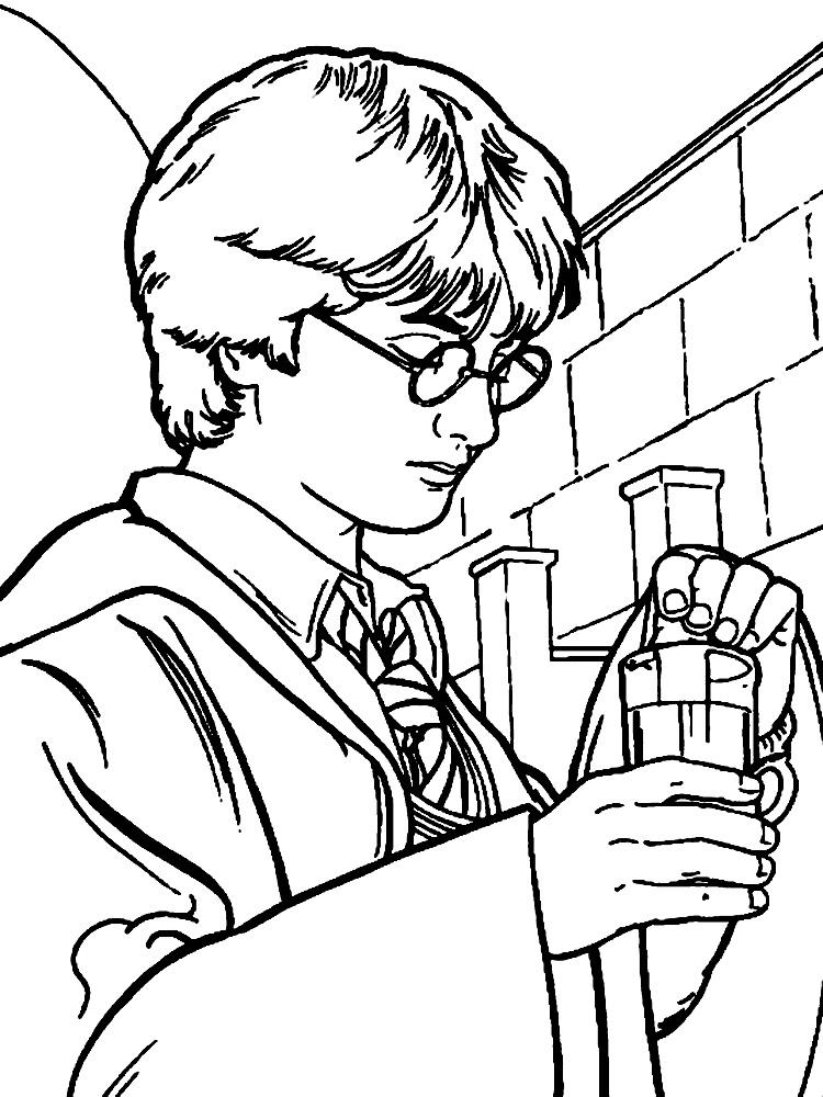 Algo Util Para Ninas Y Ninos Dibujos Para Colorear Harry Potter