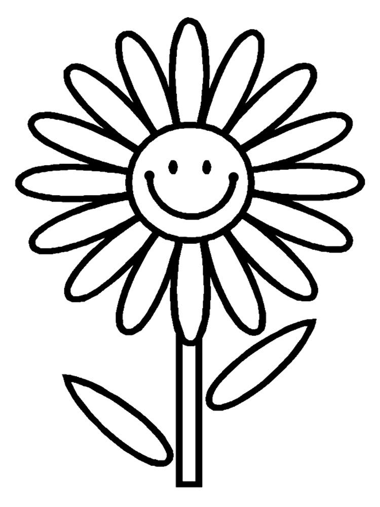 Gratuitos Dibujos Para Colorear Flores Descargar E Imprimir