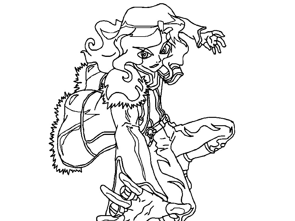 Descargue e imprima gratis dibujos para colorear  anime