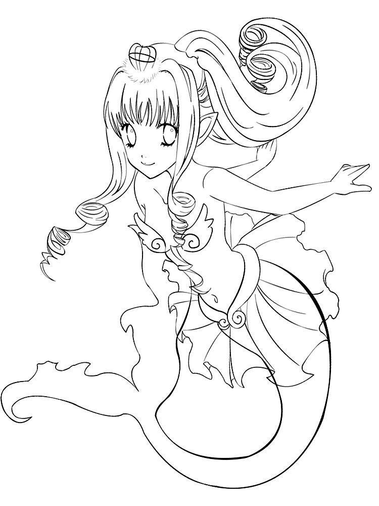 Lujo Anime Para Colorear Imágenes Regalo - Dibujos Para Colorear En ...