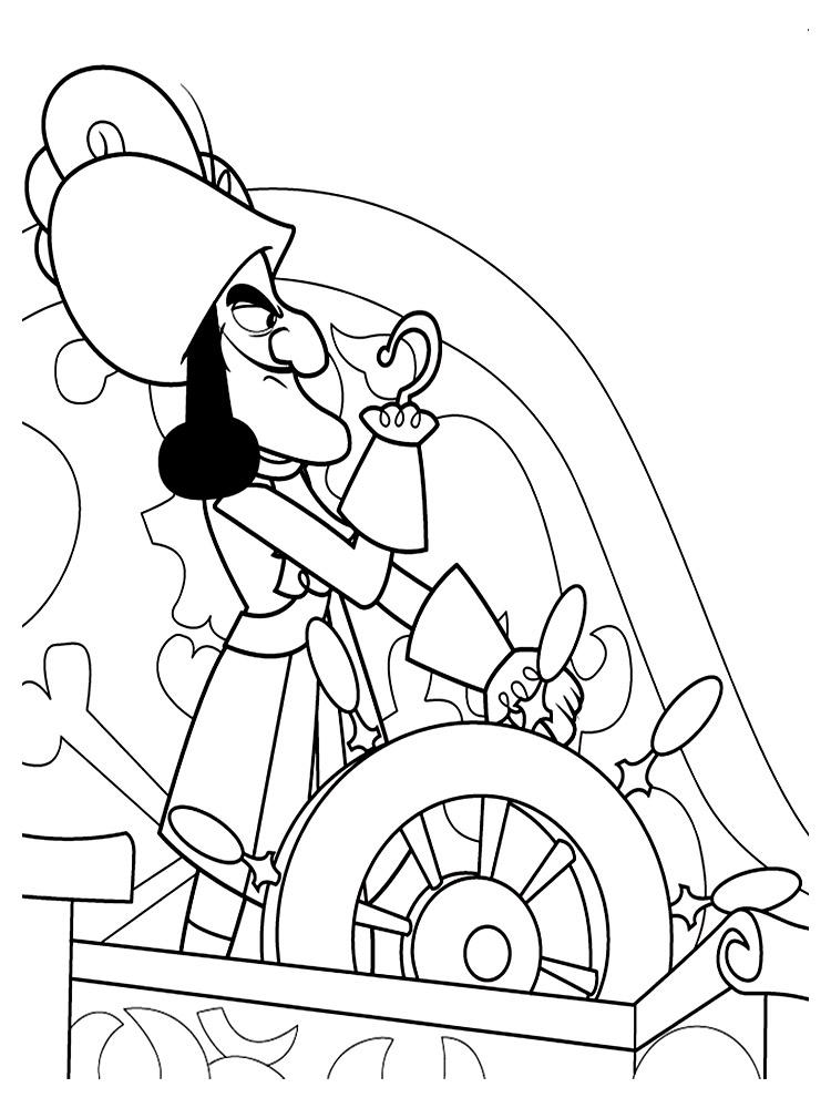 Jake y los Piratas de Nunca Jamas – dibujos para colorear e imágenes.