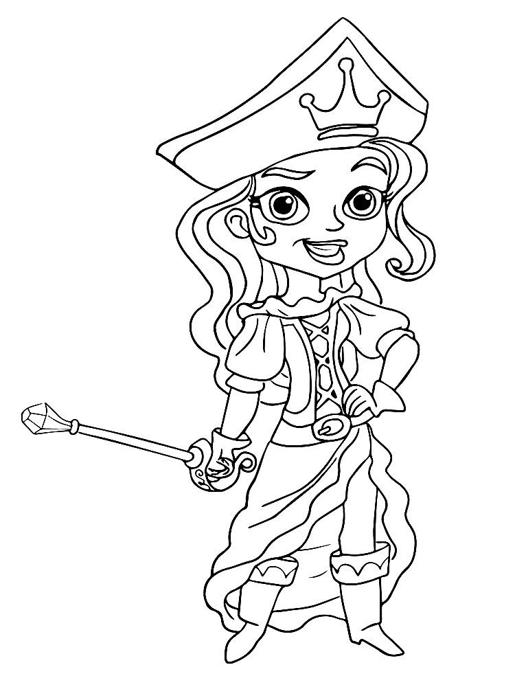 Jake Y Los Piratas De Nunca Jamas Dibujos Infantiles Para Colorear