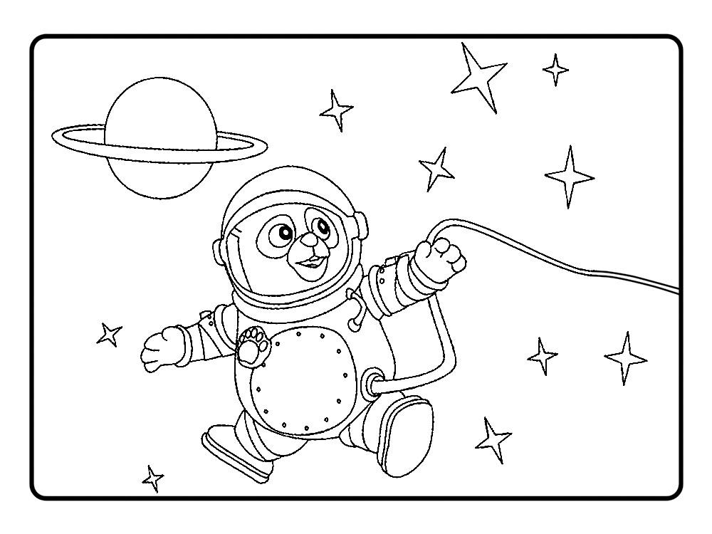 Agente Especial Oso – dibujos infantiles para colorear, para niños y ...
