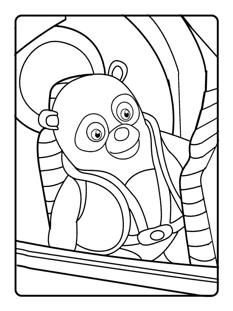 Algo útil para niñas y niños – dibujos para colorear – agente ...