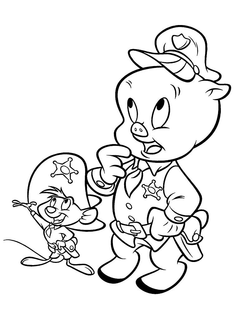 Dibujos para colorear – Looney Tunes, para un desarrollo infantil ...