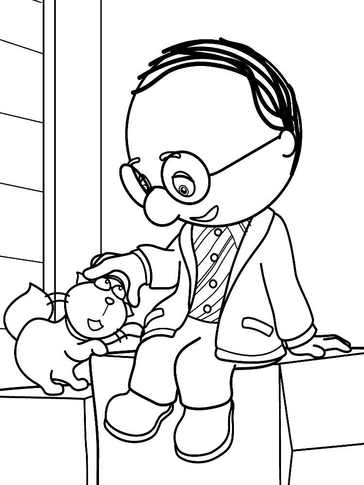 Manny Manitas Dibujos Infantiles Para Colorear