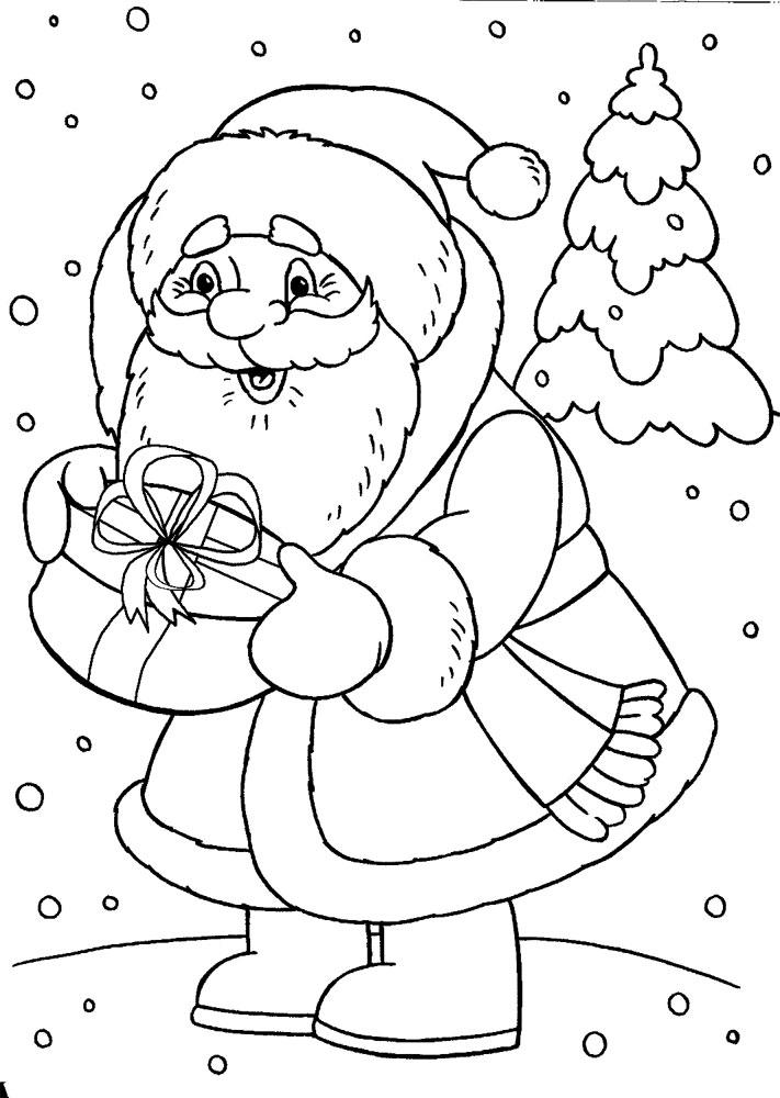 Descargar Dibujos Para Colorear Santa Claus