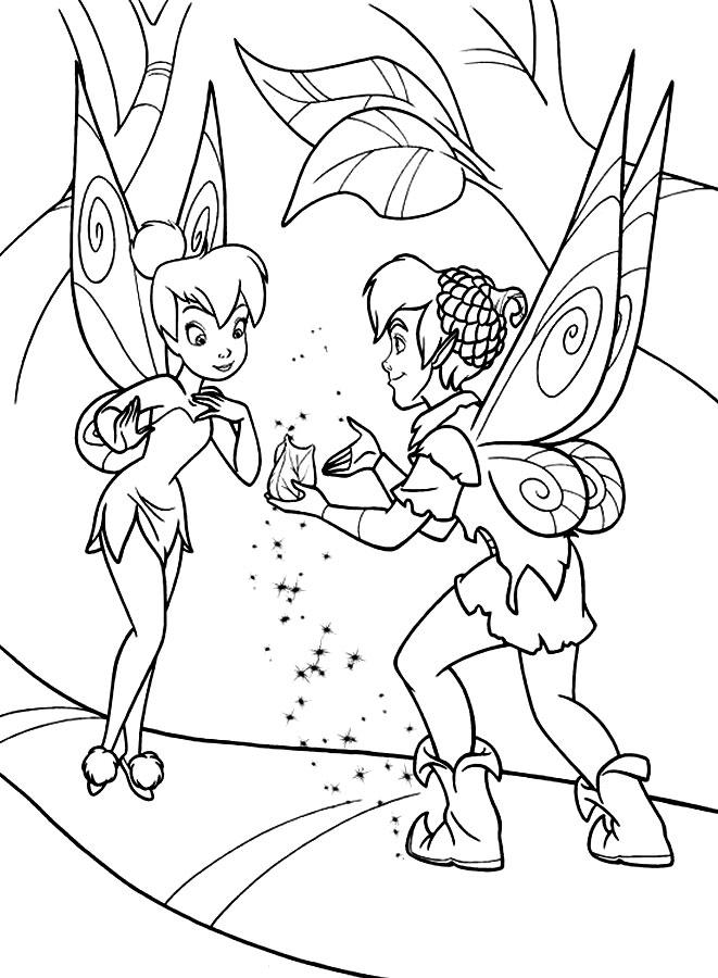 Dibujos Animados Para Colorear Campanilla Para Ni 241 Os