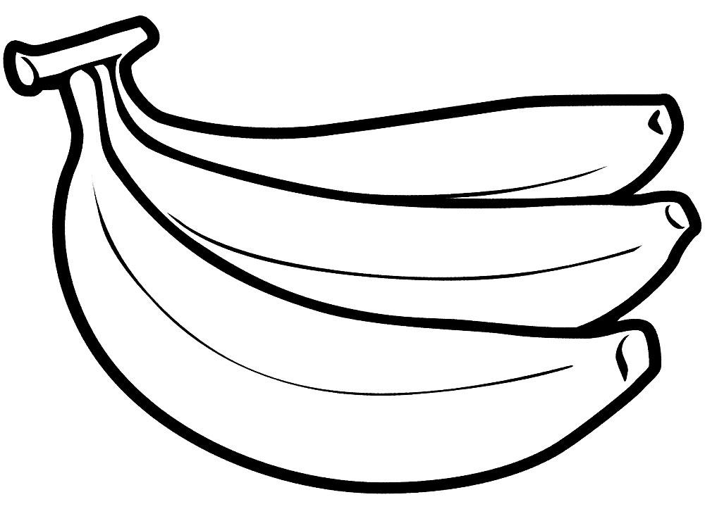 Descargar dibujos para colorear - fruta.