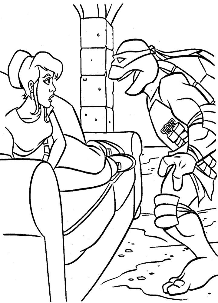 Imprimir Dibujos Para Colorear Tortugas Ninja Para Ninos Y Ninas