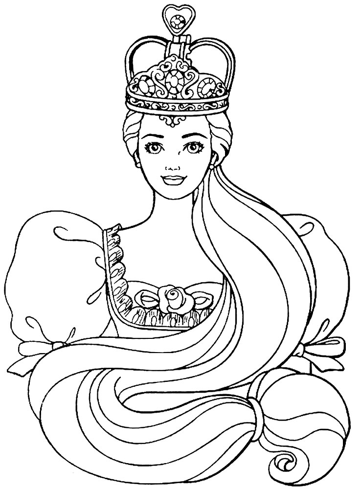 Descargar Gratis Dibujos Para Colorear Princesas