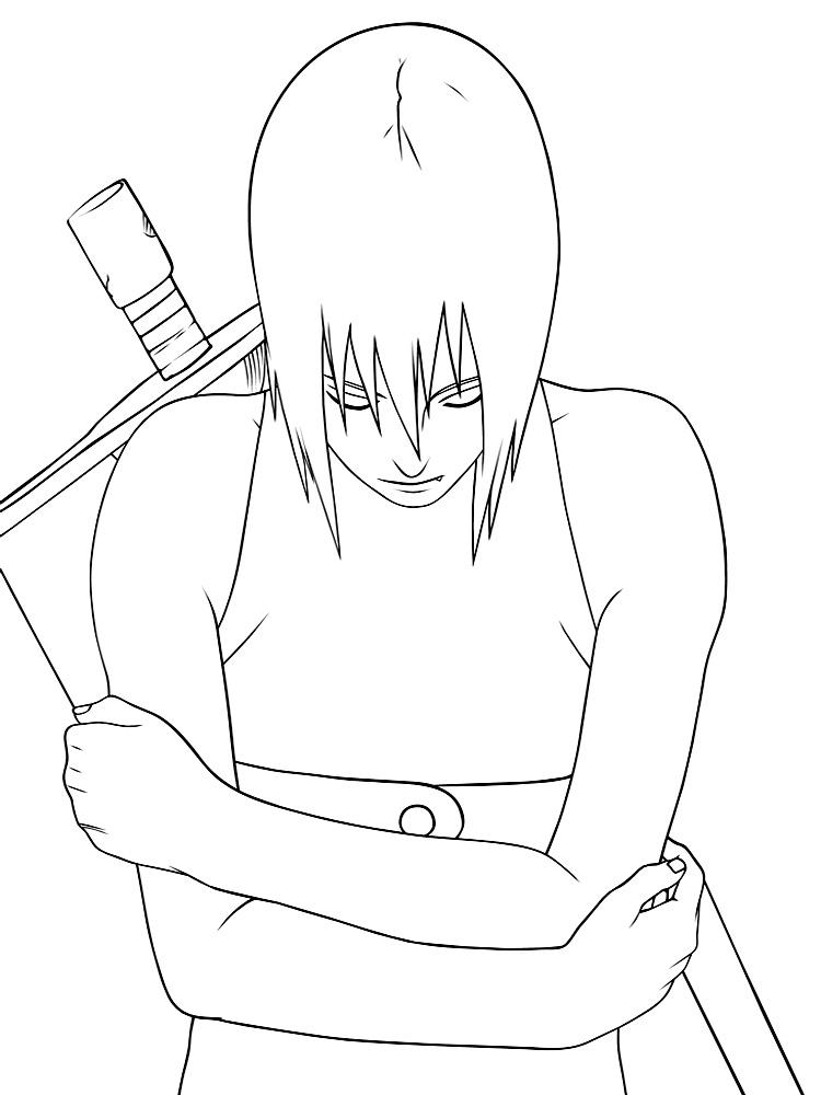 Imprimir imágenes dibujos para colorear – Naruto, para niños y niñas