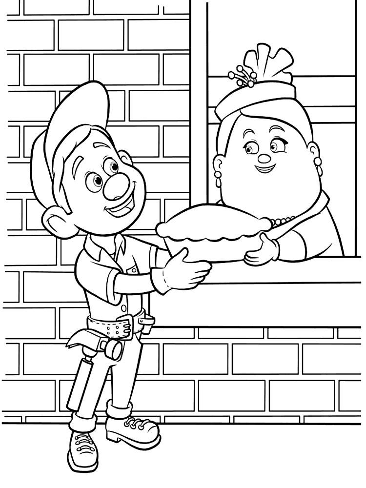 dibujos para colorear rompe ralph 61 dibujos para