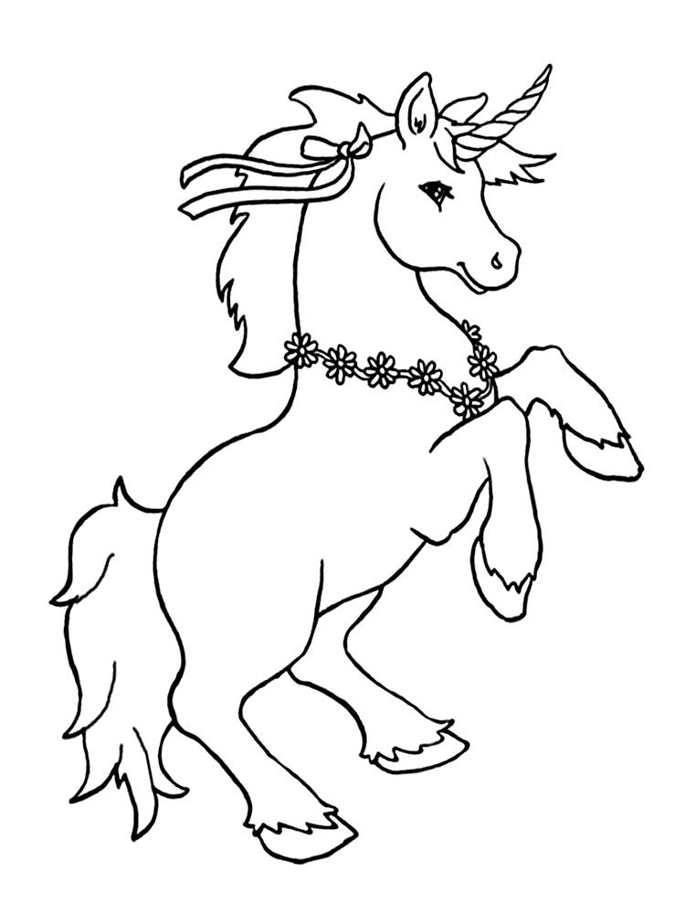 Unicornio – dibujos para colorear e imágenes.