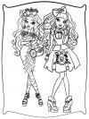 Ever After High - dibujos infantiles para colorear