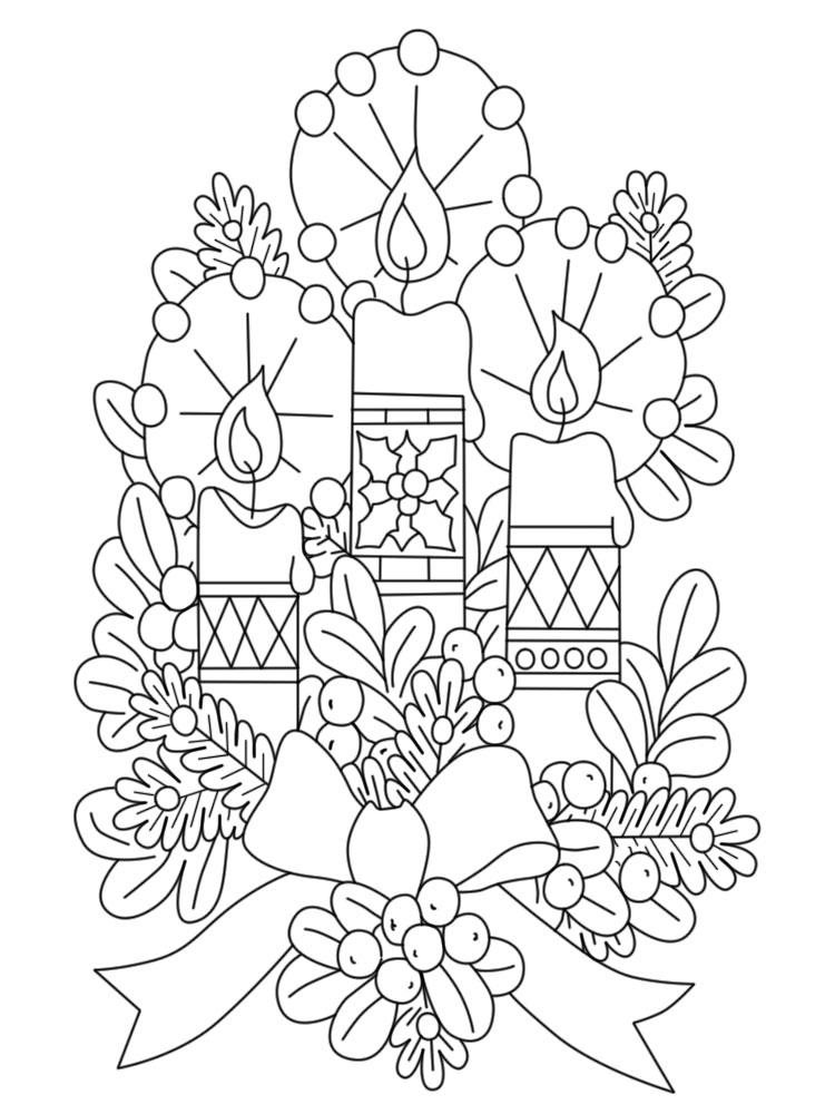 Descargar Gratis Dibujos Para Colorear Navidad