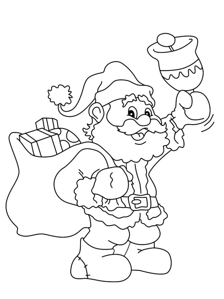 Algo útil Para Niñas Y Niños Dibujos Para Colorear Navidad