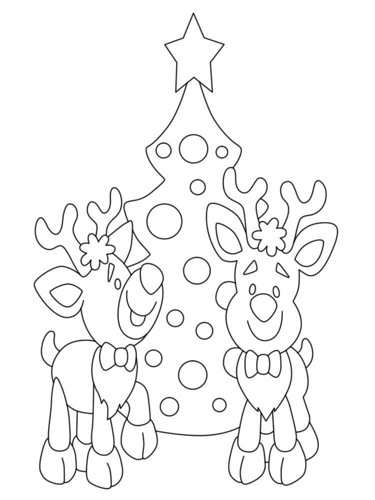 Navidad Dibujos Infantiles Para Colorear