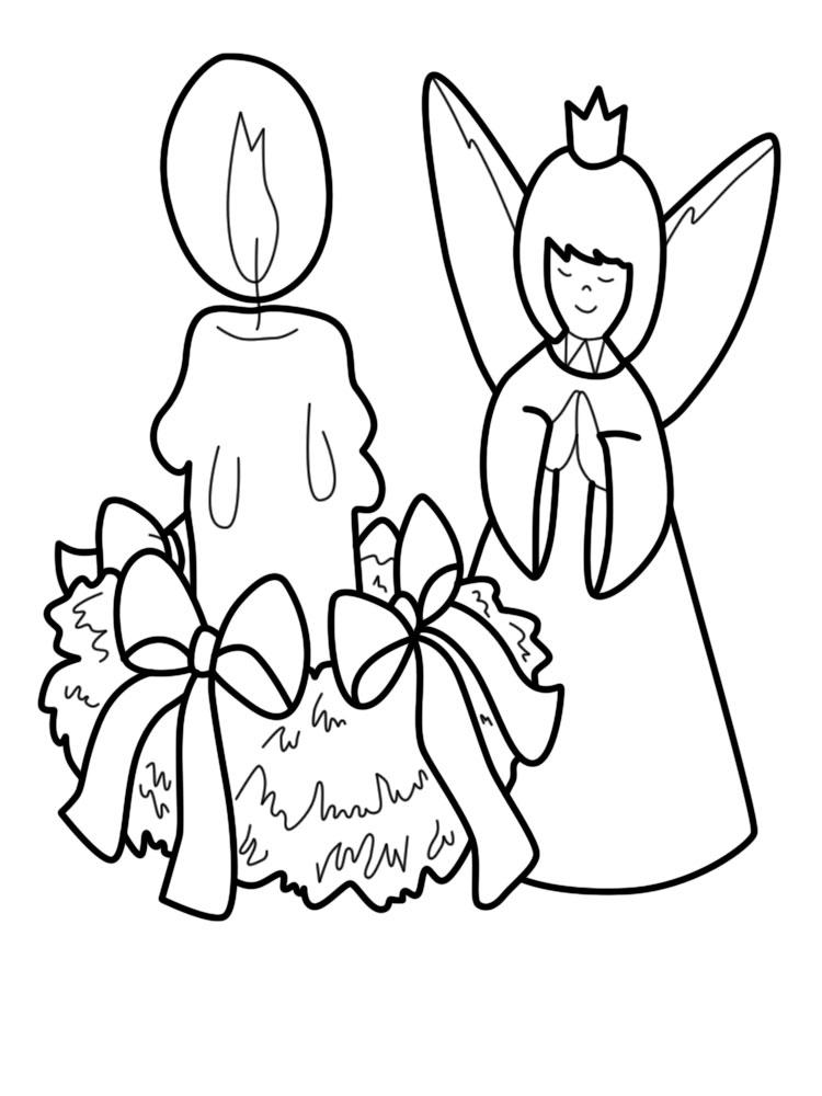 Dibujos para colorear – Navidad, imprimir gratis
