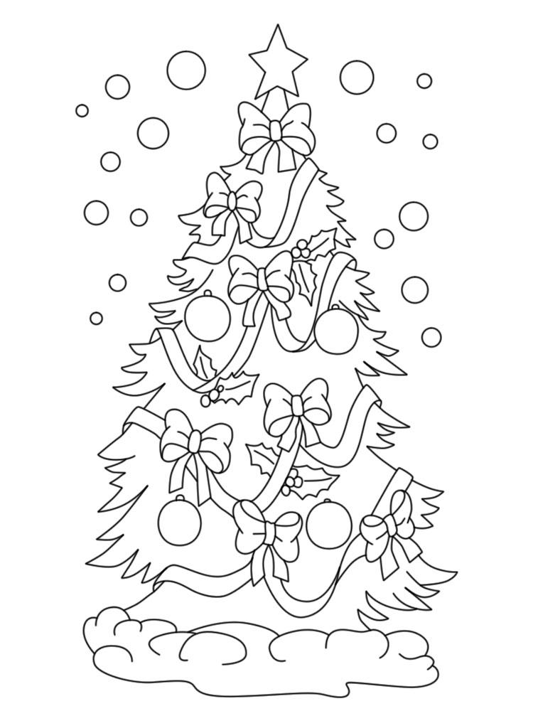 Imprimir dibujos para colorear navidad para ni os y ni as - Dibujo de navidad para ninos ...