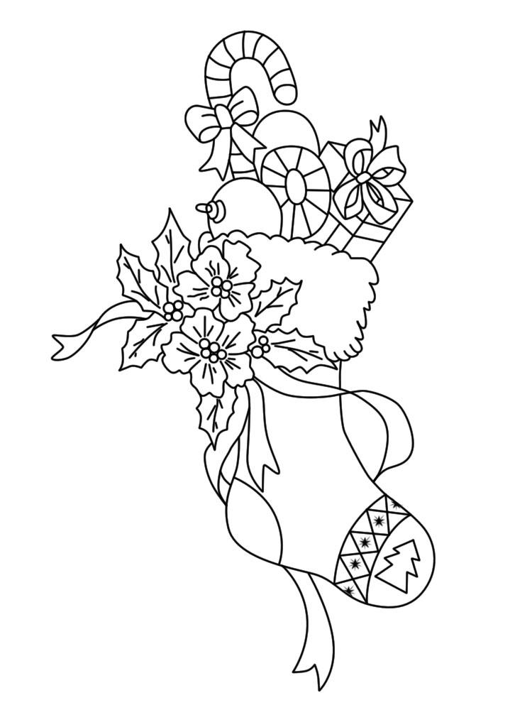 Gratuitos dibujos para colorear – Navidad, descargar e imprimir