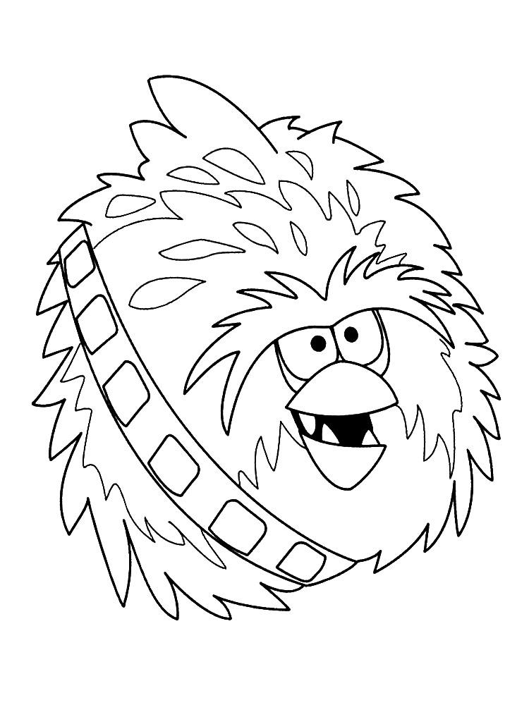 Dibujos para colorear – Angry Birds, imprimir gratis