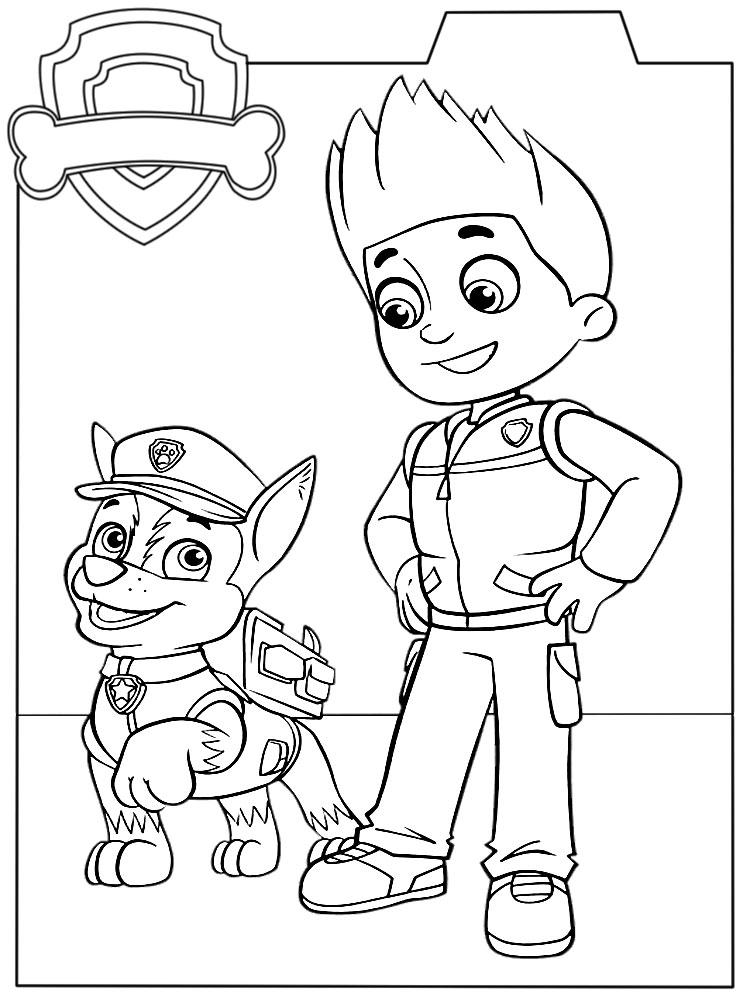 Imprimir Imágenes Dibujos Para Colorear Paw Patrol Para