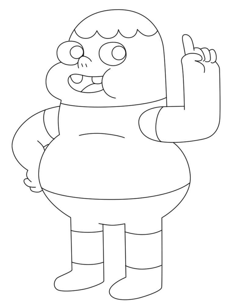 Algo útil Para Niñas Y Niños Dibujos Para Colorear Clarence